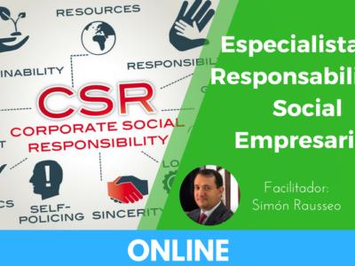 Especialista en Responsabilidad Social Empresarial online